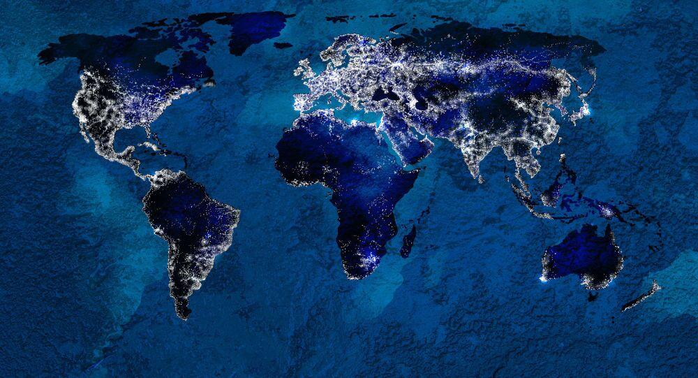 خارطة العالم المعلوماتية
