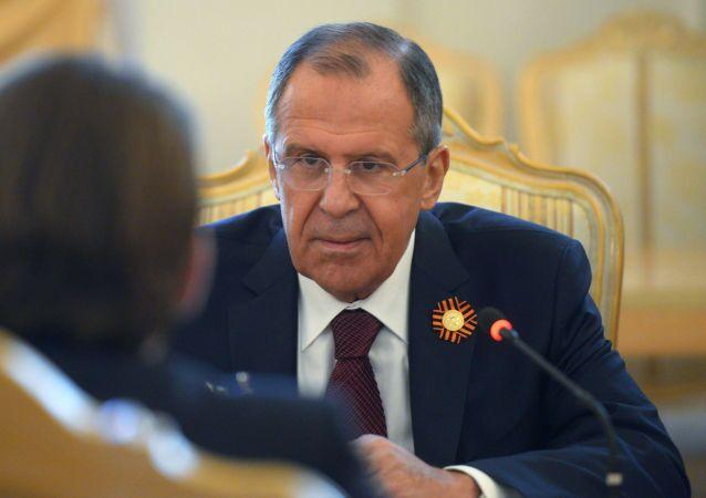 سيرغي لافروف، وزير خارجية روسيا