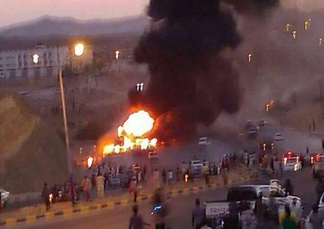 التحالف السعودي يقصف اليمن
