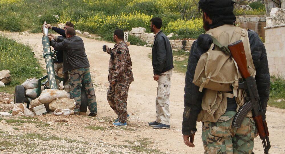 أعضاء الجيش الحر في سوريا