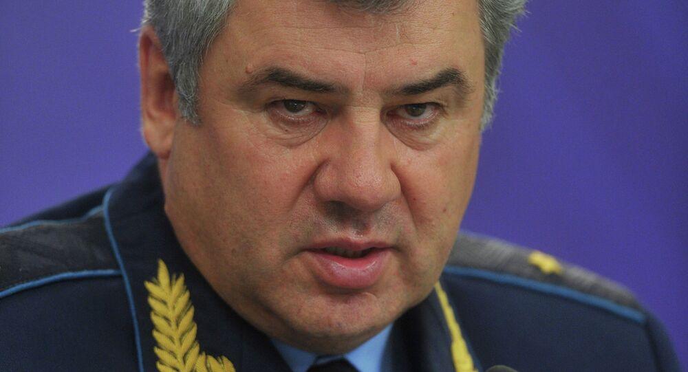 الجنرال فيكتور بونداريف، قائد القوات الجوية الروسية
