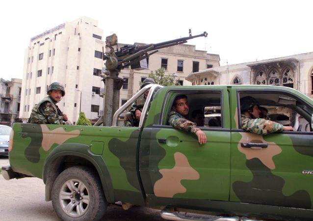 الجيش السوري في حمص