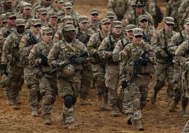 جنود أمريكيون خلال تدريب في ليتوانيا
