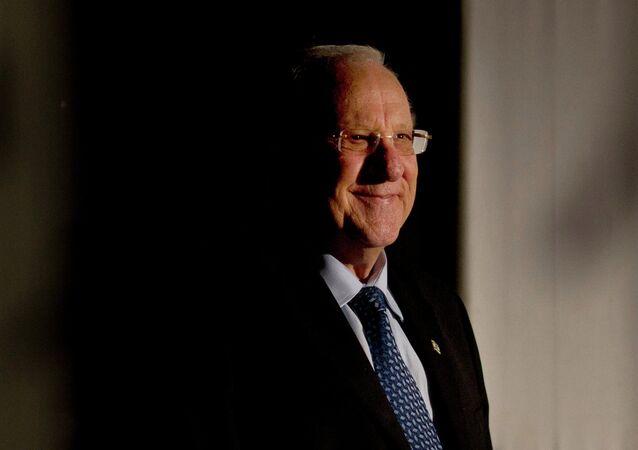 رئيس إسرائيل روفين ريفلين