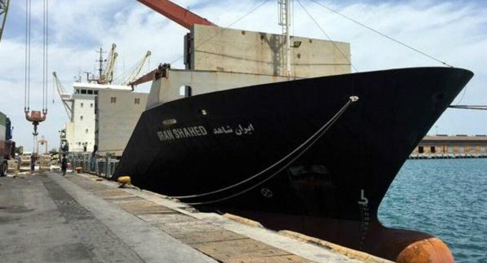 السفينة الإيرانية إيران شاهد