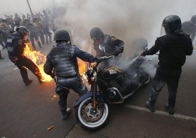 احتجاجات بالمكسيك - أرشيفية