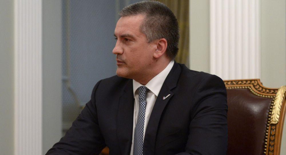سيرغي أكسونوف، رئيس منطقة القرم