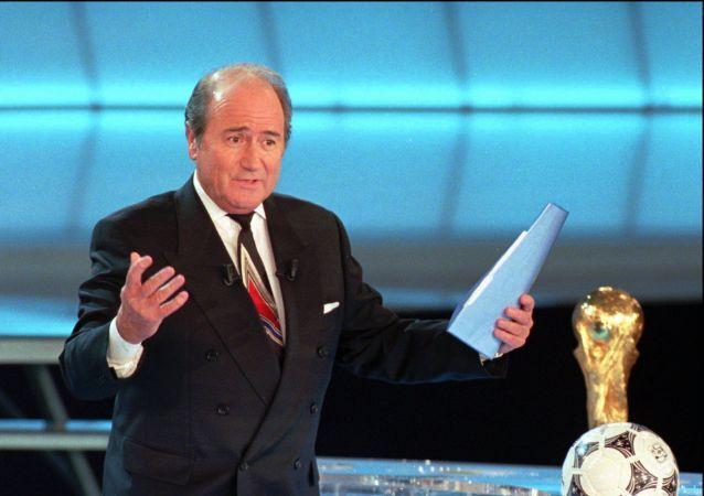 جوزيف بلاتر - رئيس الاتحاد الدولي السابق لكرة القدم الفيفا