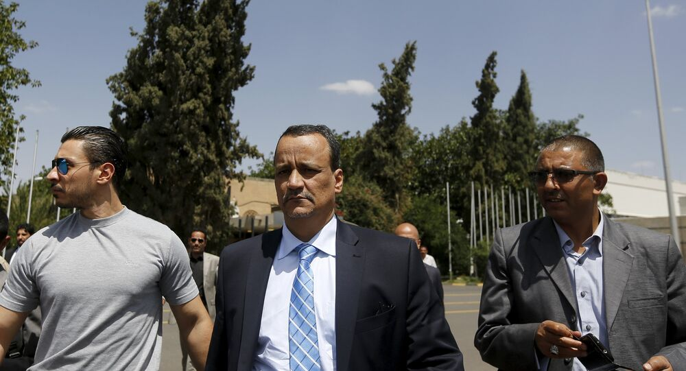 المبعوث الأممي الى اليمن اسماعيل ولد الشيخ أحمد