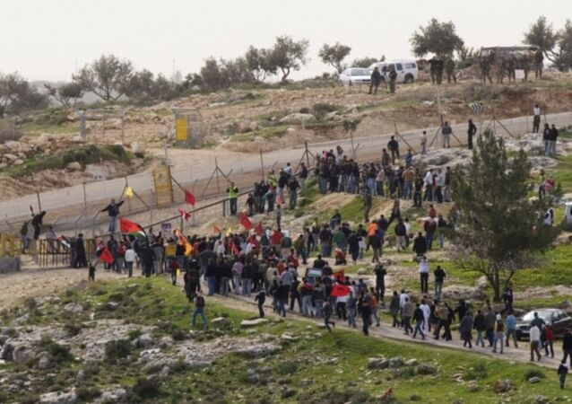 مسيرة في بلعين فلسطين
