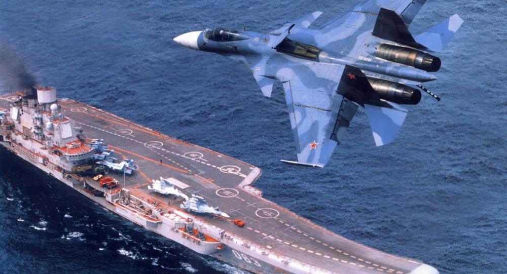 حاملة الطائرات الأميرال كوزنيتسوف