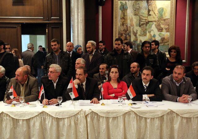 أعضاء المعارضة السورية