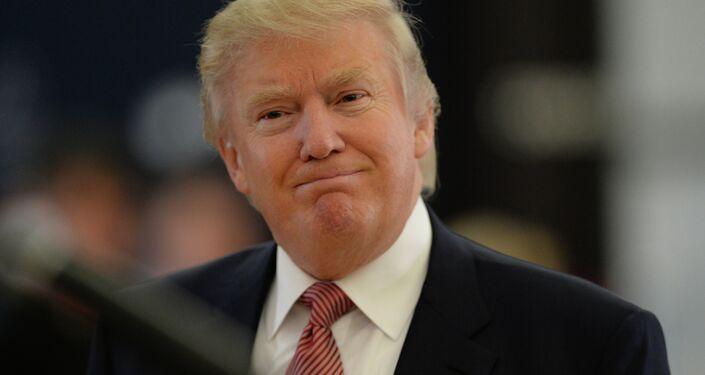 المرشح لرئاسة الولايات المتحدة دونالد ترامب