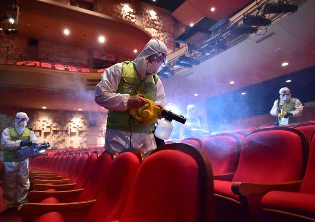 مكافحة تفشي فيروس كورونا في كوريا الجنوبية