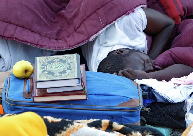 مهاجر في رمضان