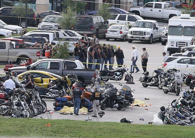 حادث في تكساس