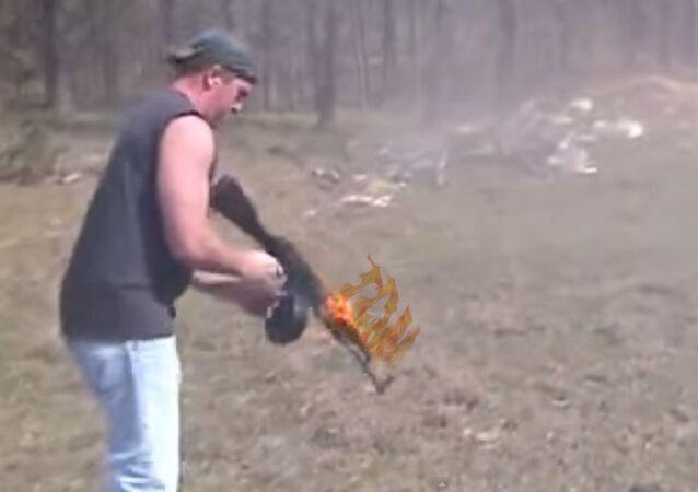 البندقية النارية