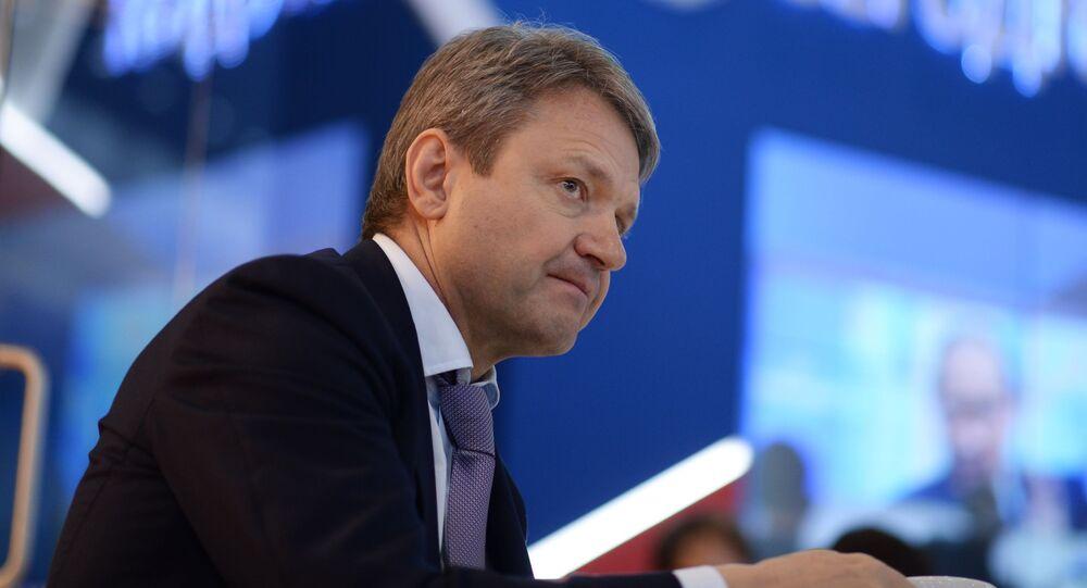 وزير الزراعة الروسي ألكسندر تكاتشوف