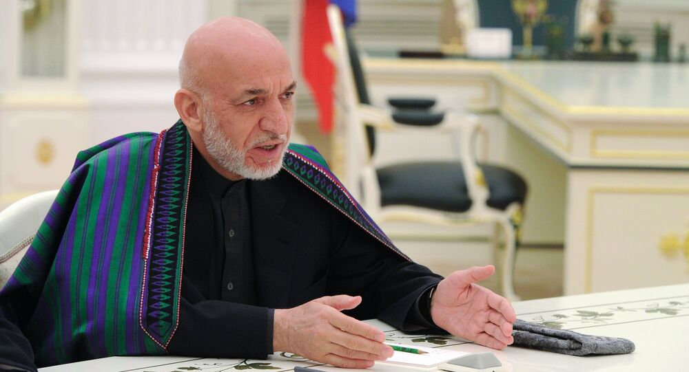 الرئيس الأفغاني السابق حامد كرزاي