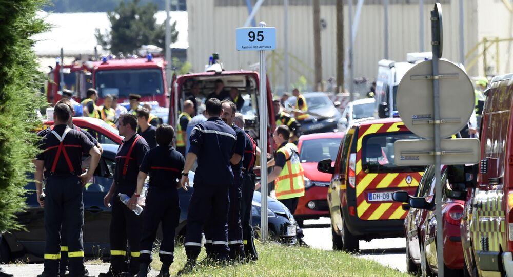 تفجير مصنع للغاز الطبيعي في مدينة إيزير جنوب شرقي فرنسا
