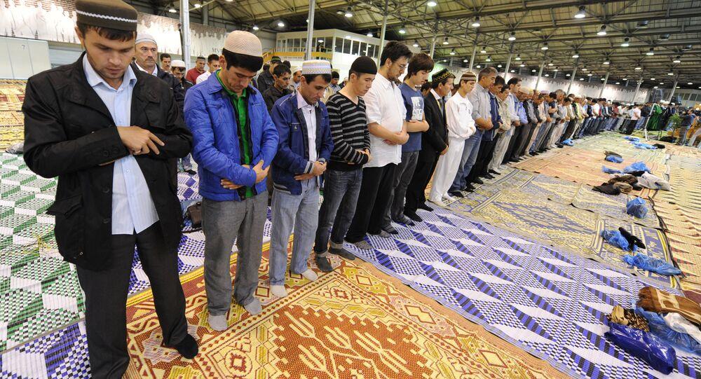 صلاة للمسلمين فى روسيا