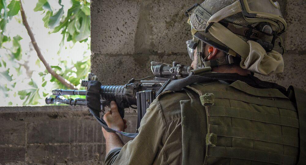 جندى من جيش إسرائيل