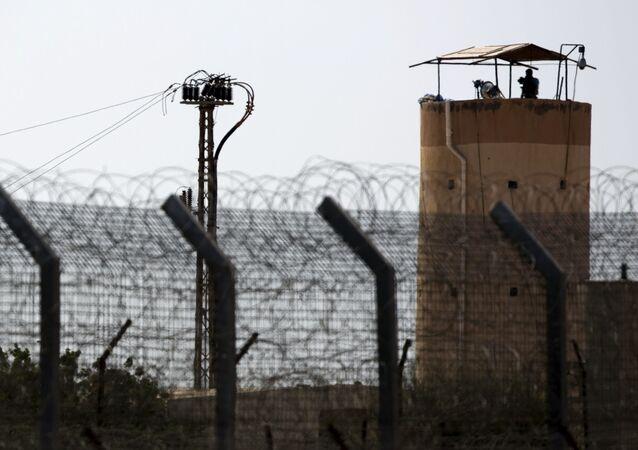 موقع مراقبة في شمال سيناء
