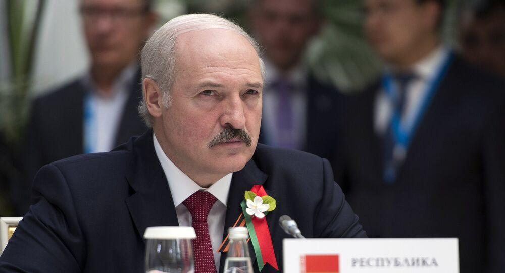 ألكسندر لوكاشينكو رئيس جمهورية بيلاروس