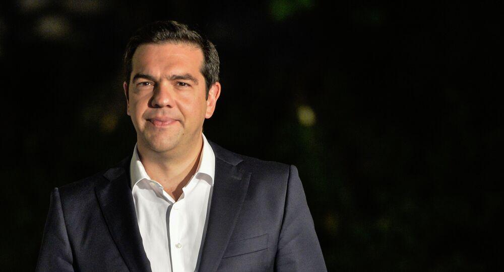 رئيس الوزراء أليكسيس تسيبراس