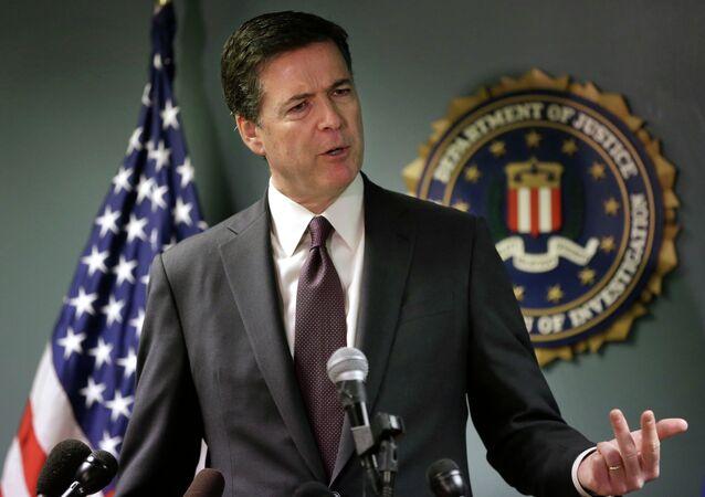 مدير مكتب التحقيقات الفيدرالي الأمريكي السابق، جيمس كومي