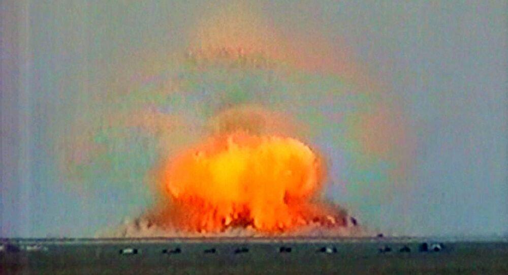 اختبار قنبلة نووية