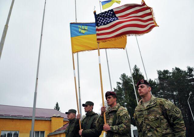 الولايات المتحدة وأوكرانيا