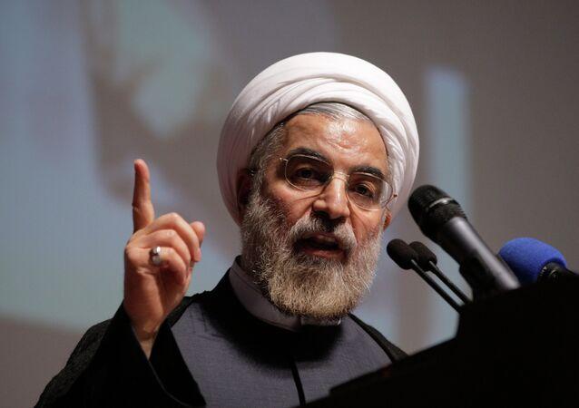 الرئيس الإيراني حسن روحاني