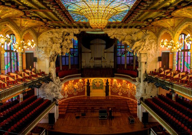 Palau de la Música Catalana was designed by the architect Lluís Domènech i Montaner and built between 1905 and 1908 for the Orfeó Català, a leading force in the Catalan cultural movement that came to be known as the Renaixença (Catalan Rebirth). In 1997, the theatre was declared a UNESCO World Heritage Site.