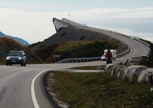 طريق المحيط الأطلسي في النرويج