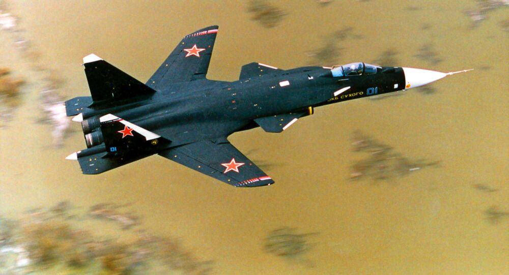 المقاتلة سو- 47 بيركوت
