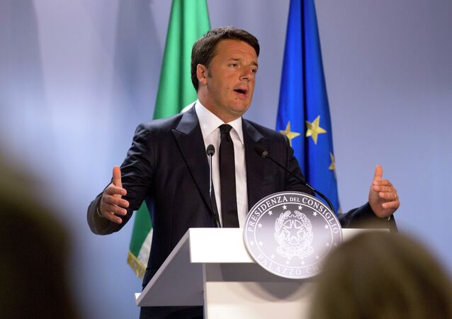 رئيس الوزراء الإيطالي، ماتيو رينزي