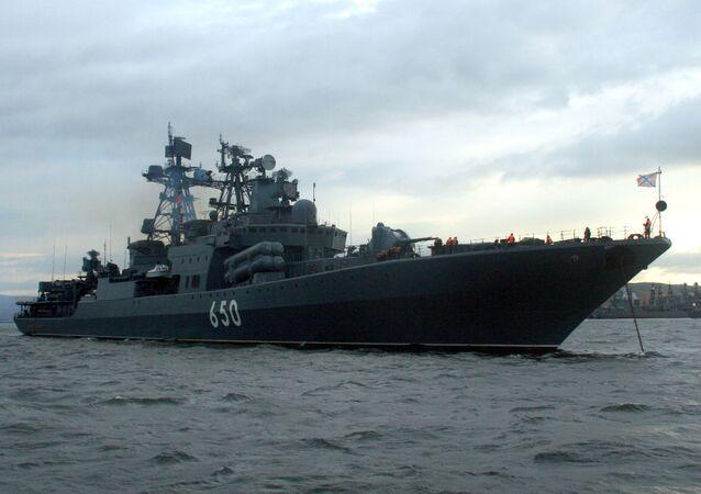 السفينة المضادة للغواصات الأميرال تشابانينكو من الأسطول الشمالي