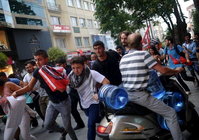 مظاهرات في تركيا