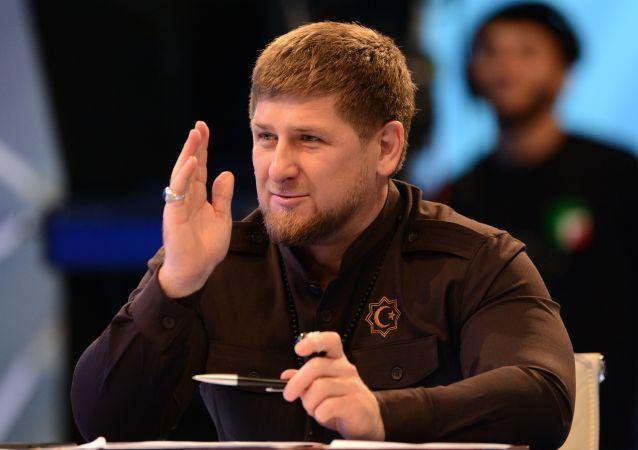 ألزعيم الشيشاني رمضان قاديروف