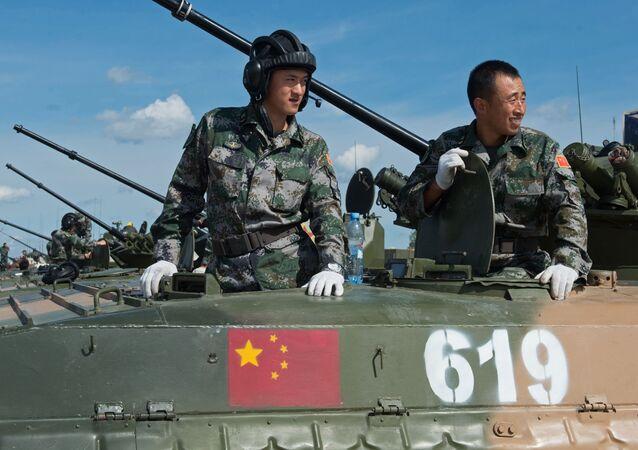 جنود من القوات المسلحة الصينية