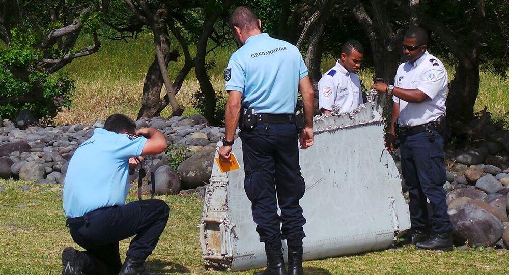حطام طائرة بوينغ الماليزية