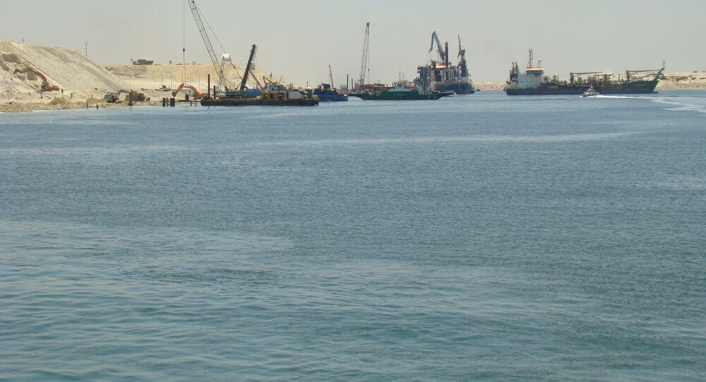 Новый Суэцкий Канал New Suez Canal حفر قناة السويس الجديدة