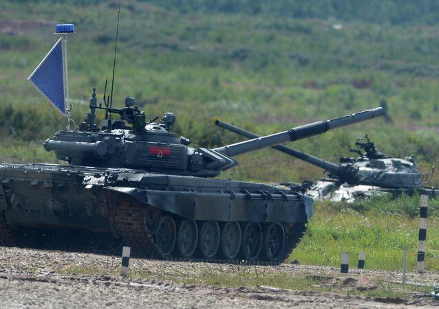 افتتاح الألعاب العسكرية الدولية الأولى في روسيا