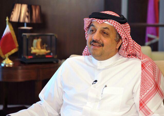 وزير الخارجية القطري خالد بن محمد العطية