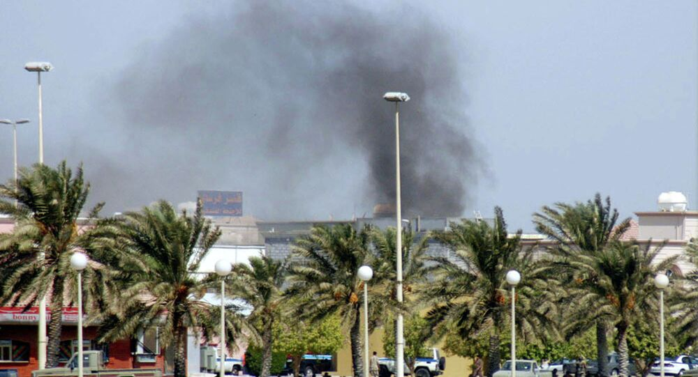 تفجير انتحاري في مسجد جنوب السعودية