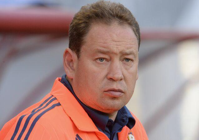 مدرب المنتخب الوطني الروسي لكرة القدم ليونيد سلوتسكي