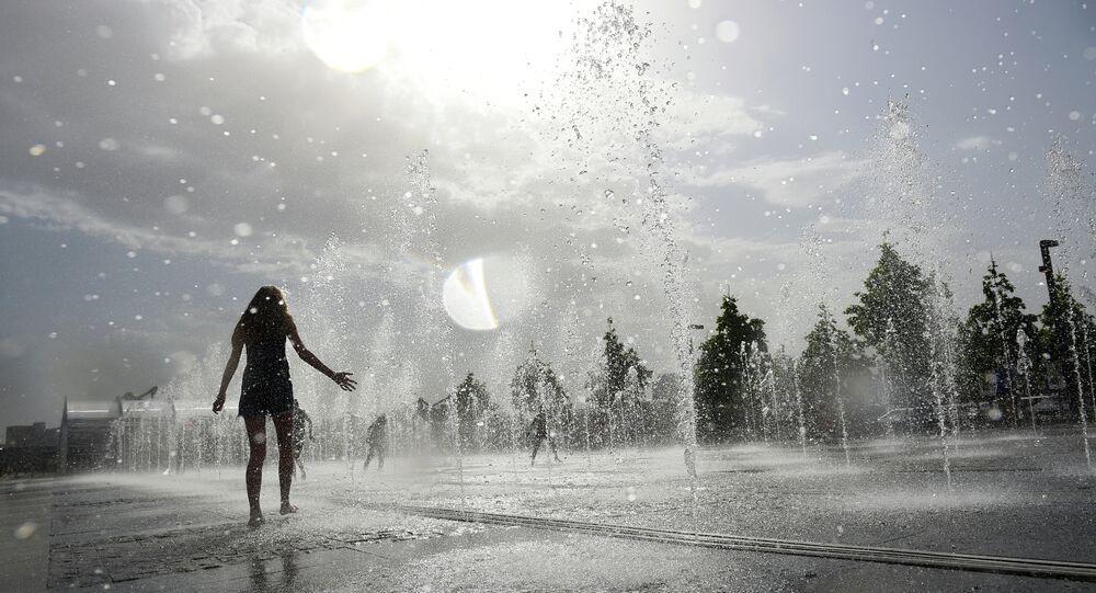 موجة الحر في موسكو