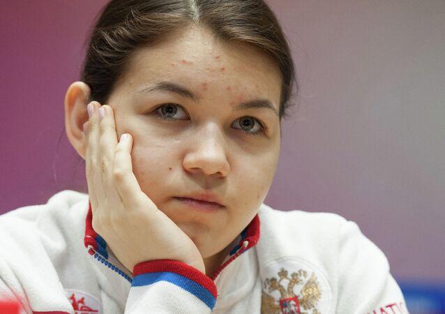 لاعبة الشطرنج الروسية ألكسندرا غورياتشكينا
