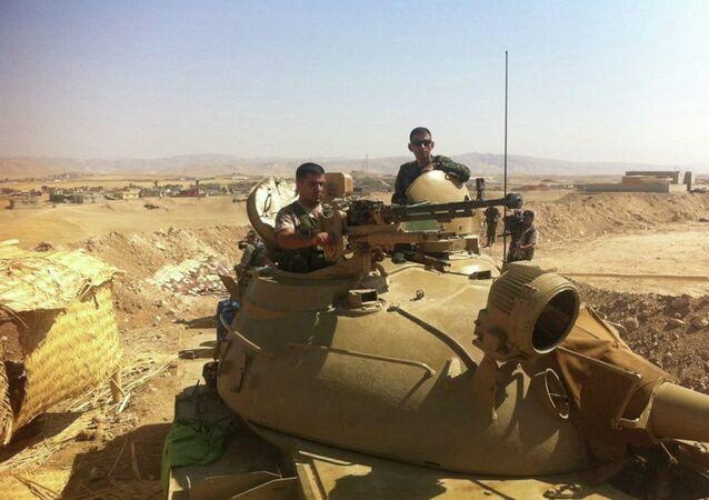 البيشمركة الكردية